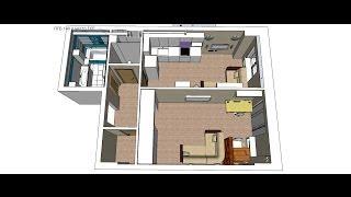 Дизайн Проект в SketchUp - workflow(Обучу SketchUp дистанционно подробности по ссылке https://vk.com/page-70371534_49517546 Ремонт квартир, офисов, коттеджей в..., 2014-05-05T14:25:26.000Z)