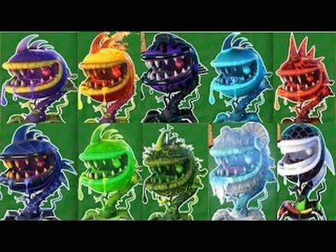 Plants Vs Zombies Garden Warfare 2: Chomper Madness - YouTube