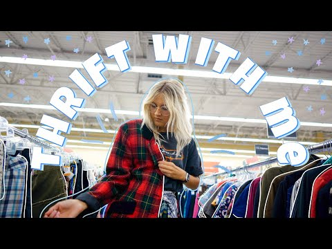 COME THRIFT WITH ME FOR WINTER 2019 FASHION TRENDS | Thrift Store Try On