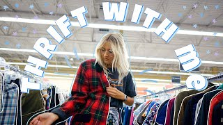 COME THRIFT WITH ME FOR WINTER 2019 FASHION TRENDS  Thrift Store Try On