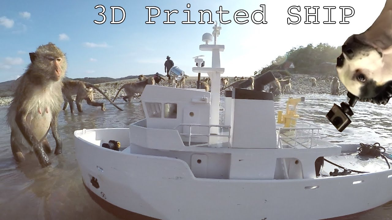 how to make a 3d printed boat
