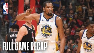 WARRIORS vs CLIPPERS | Kevin Durant Puts His Stamp On The Series With 50 Points | Game 6