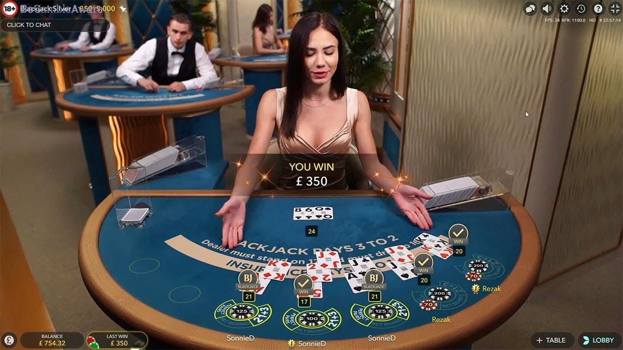 More Live Dealer Blackjack Casino Stream Highlights