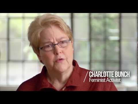Charlotte Bunch: Bringing Gay Rights to Feminism