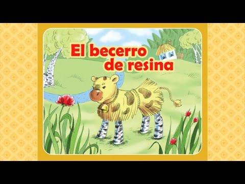 Audio cuento de hadas, El becerro de resina (Смоляной бочок сказка на испанском языке)