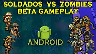 Metal Slug: Soldados VS Zombies Beta Gameplay (Android)