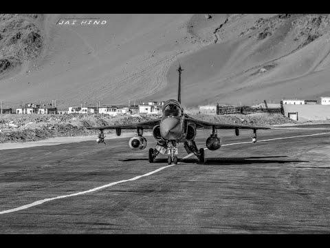 Timelapse Video of India's Light Combat Aircraft Tejas undergoing Trials in Leh between 2013-2016