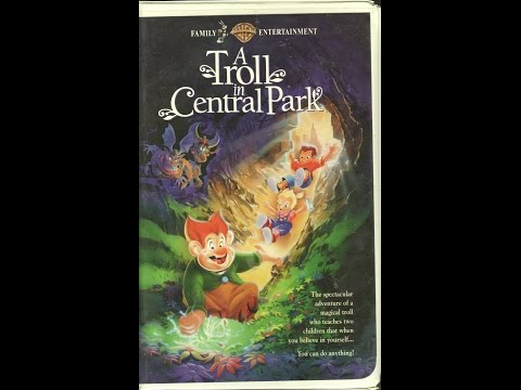 Opening To A Troll In Central Park 1994 VHS