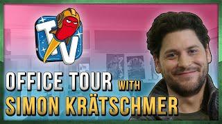 RocketbeansTV Office Tour with Simon Krätschmer