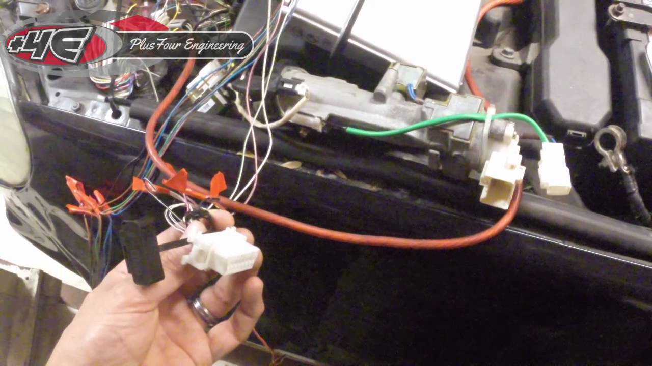 Plus Four Engineering Tutorial 1 3uz Wiring On Stock Ecu Youtube Toyota 1g Gte Diagram