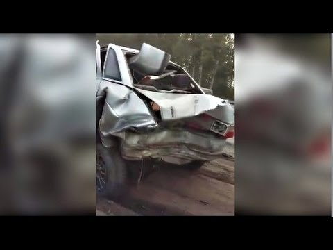Последствия Аварии на трассе Петропавловск - Бишкуль 29.07.2016