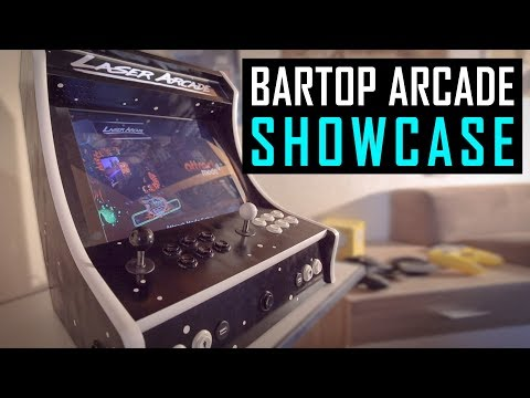 DIY Bartop Arcade Showcase – Raspberry Pi 3 Project