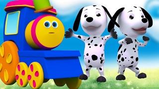 Бинго собаку | Песня для малышей | Детского стишка | Bob The Train | Kids Rhyme | Bingo The Dog