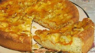 Пицца с цветной капустой. сайт http://www.bvgyoga.com