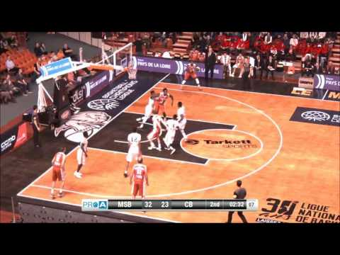 Jonathan Rousselle Highlights 16/17 With Cholet Basket