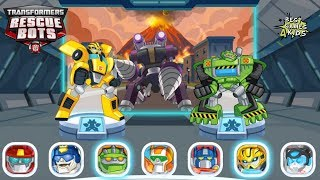 Destroy the Morbot King! | Transformers Rescue Bots: Disaster Dash Hero Run #90 By Budge