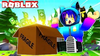 Unboxing 1 MILLION DOLLARS In Roblox! Unboxing Simulator