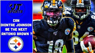 Can Diontae Johnson Be The Next Antonio Brown For The Pittsburgh Steelers | NFL