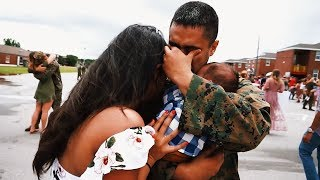 MARINE MEETS HIS SON FOR THE FIRST TIME | Francis Crespo