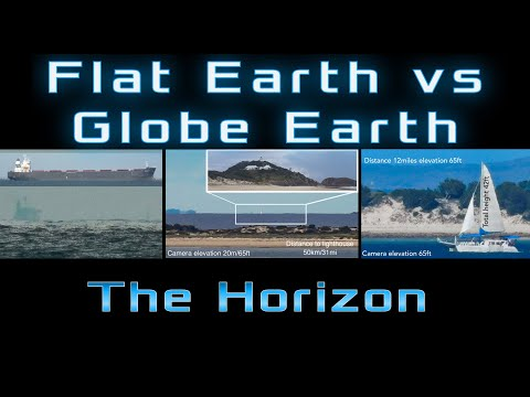 FLAT EARTH VS GLOBE EARTH: The Horizon thumbnail