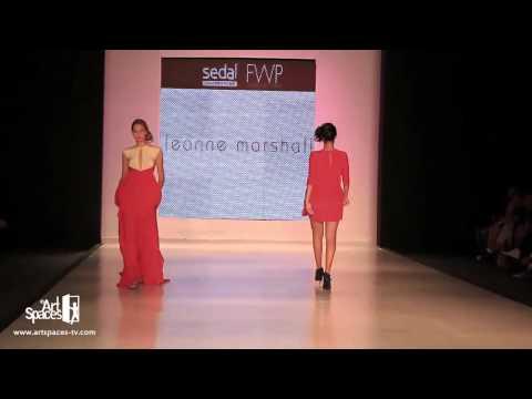Leanne Marshall (Project Runway winner) - Fashion Week Panama 2011