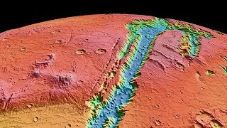 Valles Marineris - The Largest Canyon on Mars