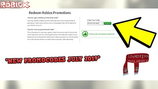 *ALL NEW* ROBLOX PROMO CODES! *JULY AND AUGUST 2019* (ROBLOX ALL NEW PROMOCODES)