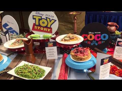 The food of Disneyland's Pixar Fest
