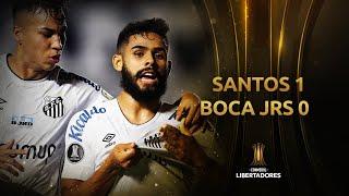 Santos vs. Boca Juniors [1-0]   RESUMEN   Fecha 4   CONMEBOL Libertadores 2021