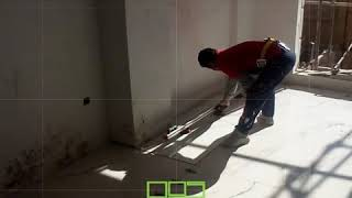 How to install Floor Slab Tile