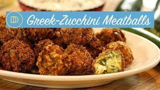 Zucchini Meatballs: Kolokithokeftedes