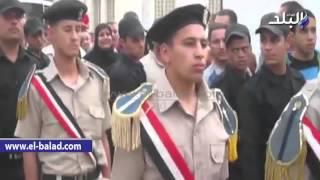 بالصور والفيديو.. آلاف المشيعين بالدقهلية يودعون 'السواح' شهيد سيناء بهتافات 'لا إله إلا الله الإخواني عدو الله'