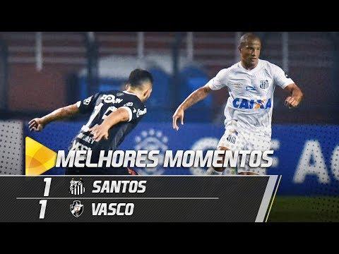 Santos 1 x 1 Vasco | MELHORES MOMENTOS | Brasileirão (27/09/18)