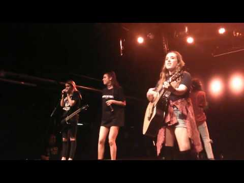 Cimorelli live in Stockholm - Never Let Me Fall