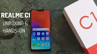 Realme C1 - Unboxing and Hands-on [Hindi]