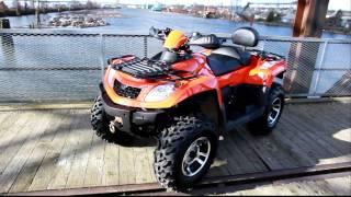 2012 GIO Rock Liner II 550cc EFI 4x4 ATV - GIOBikes.com