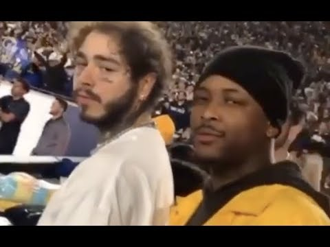 YG Confronts Post Malone After Cowboys Loss