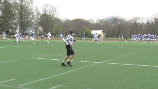 Acton Boxborough Boys Varsity Lacrosse @ Brookline 4/20/17
