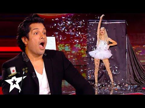 QUICK CHANGE Magician SHOCKS Judges on Stage! | Magicians Got Talent