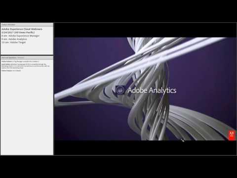 Introduction to Adobe Analytics - 5/24 Webinar