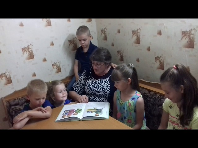 Изображение предпросмотра прочтения – ОльгаКурдяева читает произведение «Косточка» Л.Н.Толстого