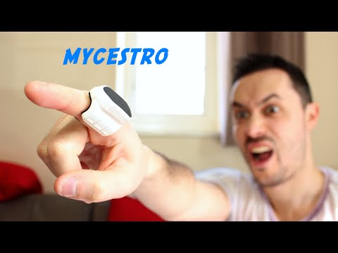 MYCESTRO - a mouse you wear on your finger!