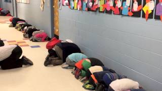 Witness a tornado drill at Hunter Elementary thumbnail