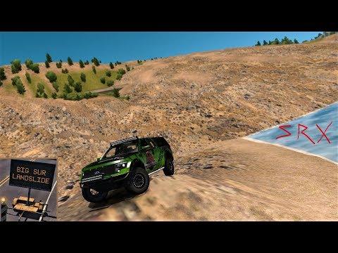 American Truck Simulator - Raptor SVT - Exploring The Big Sur Landslide