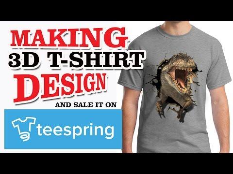 3D Dino T-Shirt