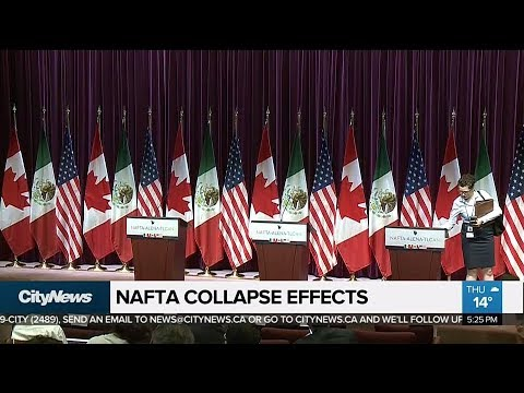 What would happen in Canada if we lost NAFTA?