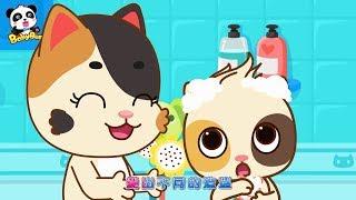 寶寶愛衛生,頭上有好多的泡泡,把頭髮洗乾淨+更多合集 | 兒童卡通動畫 | 幼兒音樂歌曲 | 兒歌 | 童謠 | 動畫片 | 卡通片 | 寶寶巴士 | 奇奇 | 妙妙 thumbnail