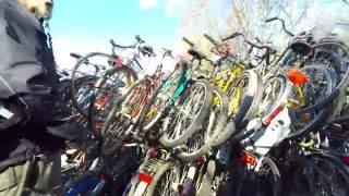 Cykelloppis.Барахолка велосипедов