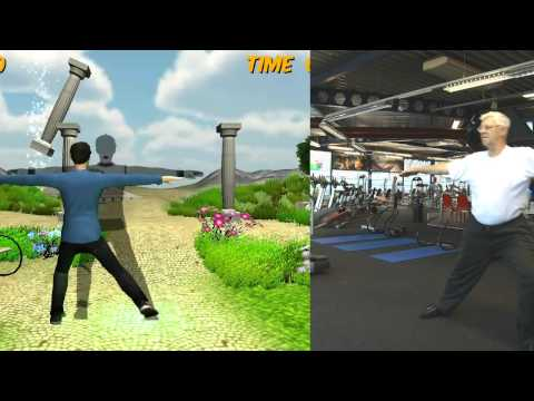 FysioGaming - exercising platform for physical therapy using a Kinect sensor (rehabilitation)