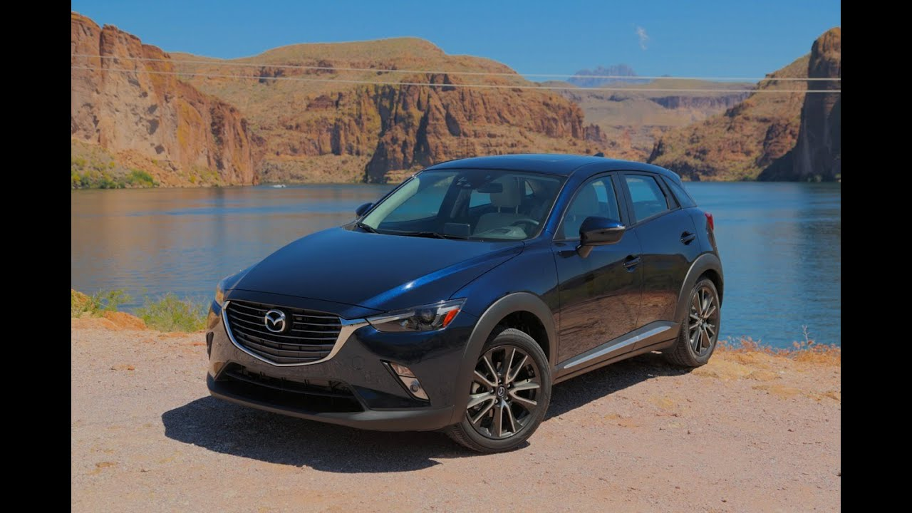 2016 mazda cx-3 review - first drive - youtube